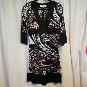 Trunk Turk silk dress size 6